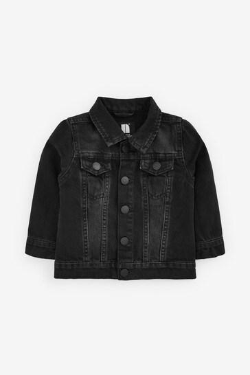 Denim Grey Western Jacket (3mths-7yrs)
