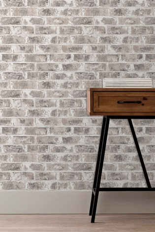 Urban Walls Warehouse Brick Wallpaper by Urban Walls
