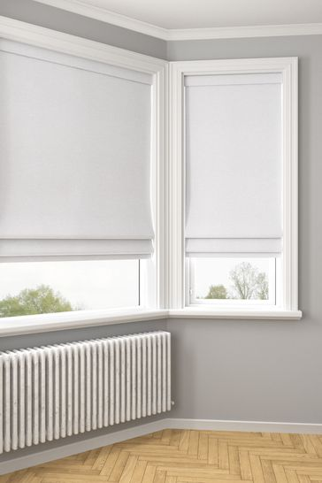 Soho Nordic Grey Made To Measure Roman Blind