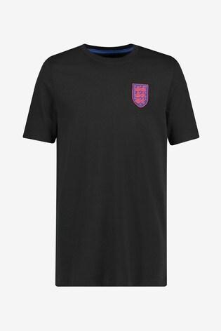 Nike Black England Travel T-Shirt