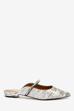 Kurt Geiger London Animal Princely 2 Leather Heel Sandals