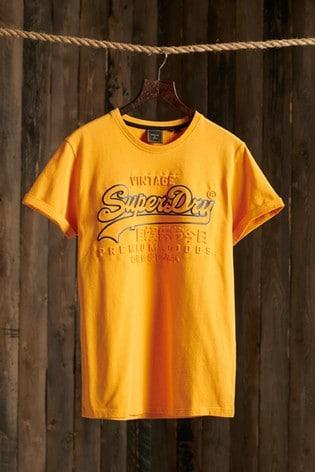 Superdry Vintage Logo Embossed T-Shirt