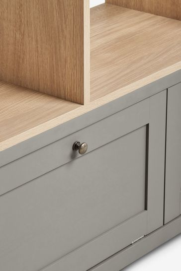 Malvern Dove Grey Display Shelf