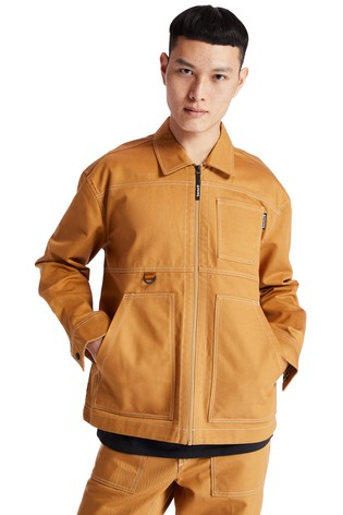 Timberland® Twill Contrast Stitch Workwear Jacket