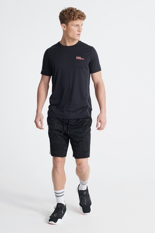 Superdry Training Breathable Camo Shorts