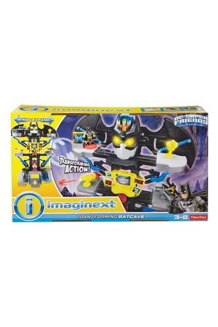 Imaginext Transforming Batcave Batman® Playset with Lights and Dart Launcher with Batman® and Joker Figures