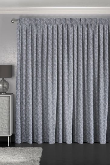 Ophia Slate Grey Made To Measure Curtains