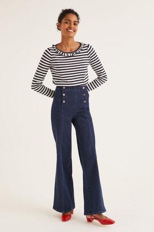 Boden Denim Sailor Wide Leg Jeans