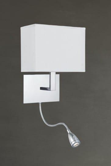 Lofti 2 Light LED Flexi Arm Wall Light by Searchlight