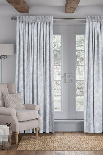 Ophia Smoke Grey Made To Measure Curtains