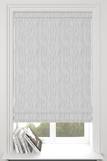 Kally Silver Grey Made To Measure Roman Blind
