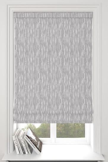Kally Slate Grey Made To Measure Roman Blind