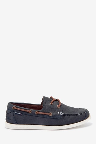 Superdry Navy Boat Shoes