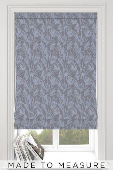Grey Ophia Made To Measure Roman Blind