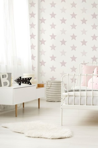 Art For The Home Pink Superfresco Easy Superstar Wallpaper