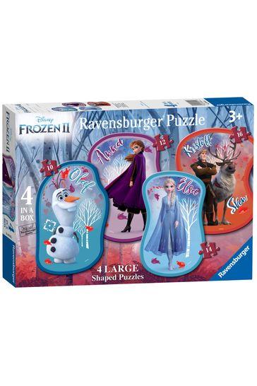 Ravensburger Disney™ Frozen 2, 4 Large Shaped Jigsaw Puzzles