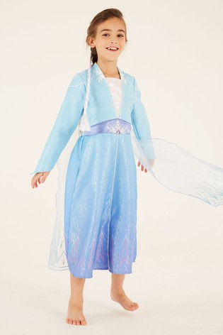 F&F Frozen 2 Elsa Blue Dress Up