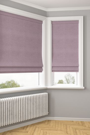Soho Mulberry Purple Made To Measure Roman Blind