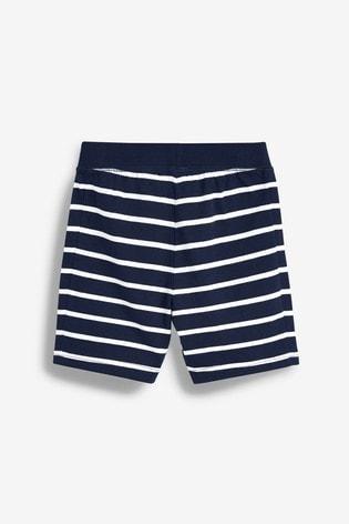 Navy Stars/Stripes 3 Pack Short Pyjamas (9mths-12yrs)