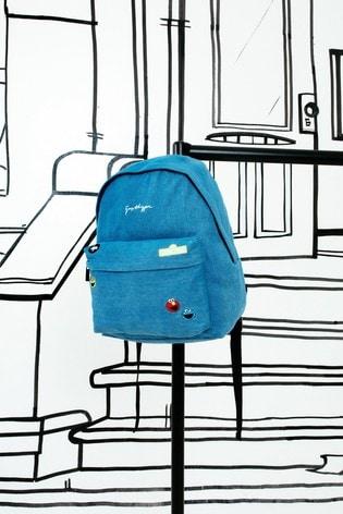 Hype. x Sesame Street Denim Character Backpack