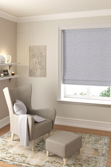 Slate Silver Cullen Made To Measure Roman Blind