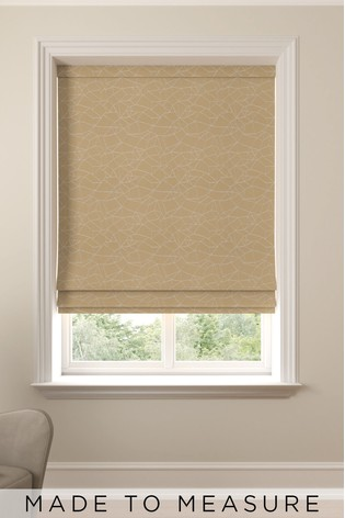 Gold Cullen Made To Measure Roman Blind