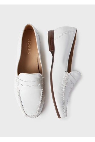 Hobbs White Holly Moccasins