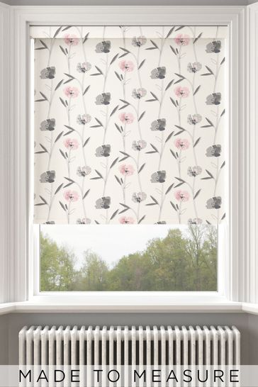 Izzy Candyfloss Pink Made To Measure Roller Blind