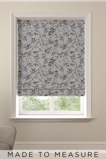 Phoebe Nordic Green Made To Measure Roman Blind