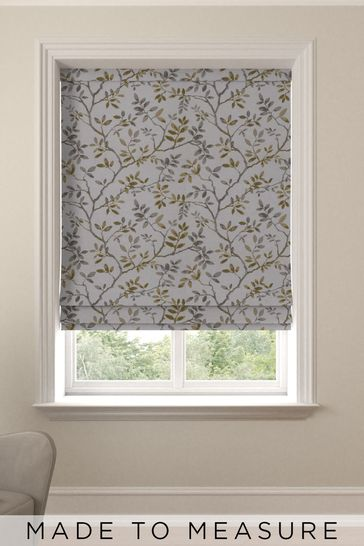 Phoebe Sunflower Yellow Made To Measure Roman Blind