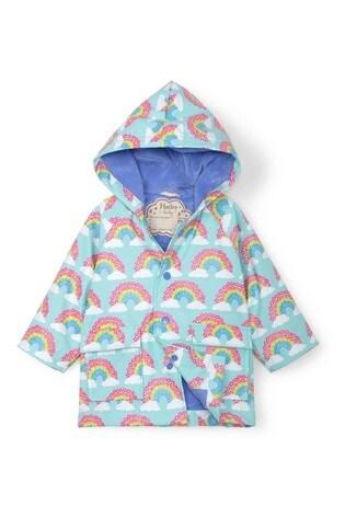 Hatley Blue Magical Rainbows Baby Raincoat
