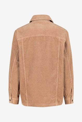 Camel Long Cord Jacket
