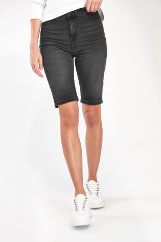 Guess Black Pedal Shorts
