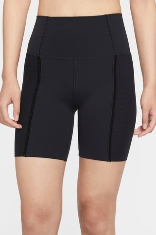 "Nike Yoga 7"" High Waist Shorts"