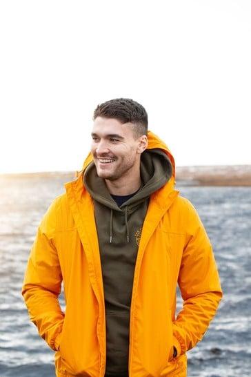 Tog 24 Orange Craven Mens Waterproof Packaway Jacket