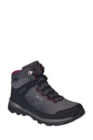 Regatta Grey Lady Highton Stretch Mid Walking Boots