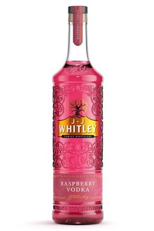 Raspberry Vodka 70cl by JJ Whitley
