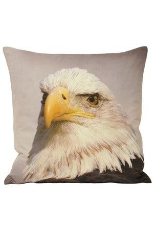 Riva Home Cream Bald Eagle Cushion