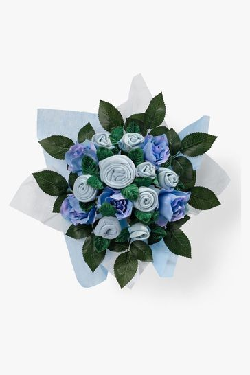Babyblooms Blue New Baby Clothes Bouquet Gift