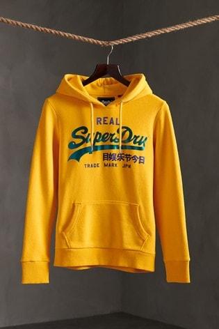Superdry Vintage Logo Duo Satin Hoody