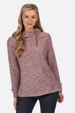 Regatta Pink Kizmit II Hooded Fleece