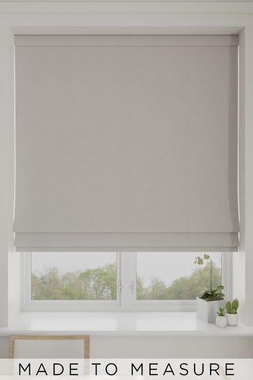Aria Linen Natural Made To Measure Roman Blind