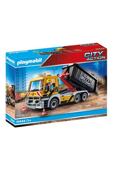 Playmobil® 70444 City Action Construction Truck With Tilting Trailer