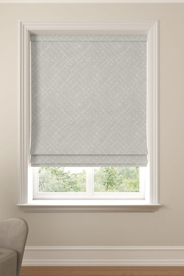 Arket Putty Grey Made To Measure Roman Blind