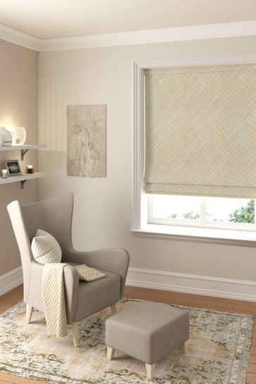 Arket Ochre Gold Made To Measure Roman Blind