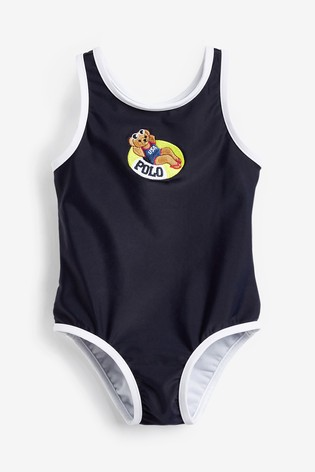 Ralph Lauren Navy Bear Swimsuit