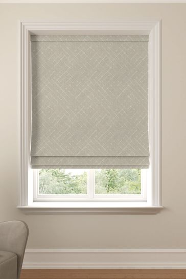 Arket Linen Natural Made To Measure Roman Blind