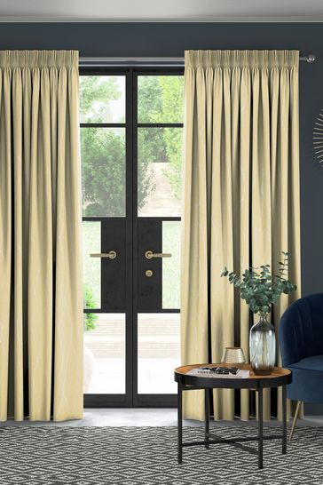 Legna Zest Gold Made To Measure Curtains
