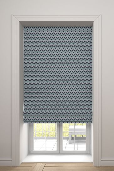 Varese Aqua Green Lined Made To Measure Roman Blind