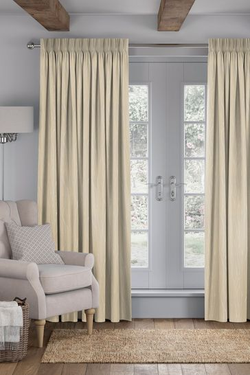 Legna Brass Natural Made To Measure Curtains